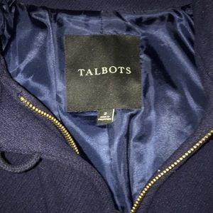 Talbots pea coat size 2